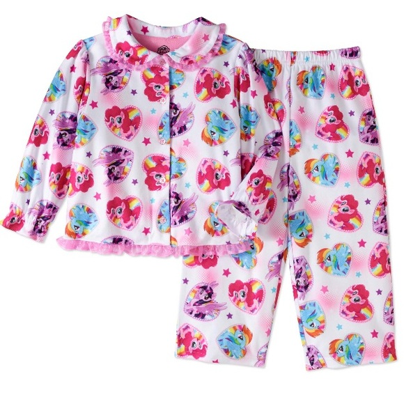BNWT girls Pajamas long sleeved My little pony pjs Ideal christmas gift 4 sizes